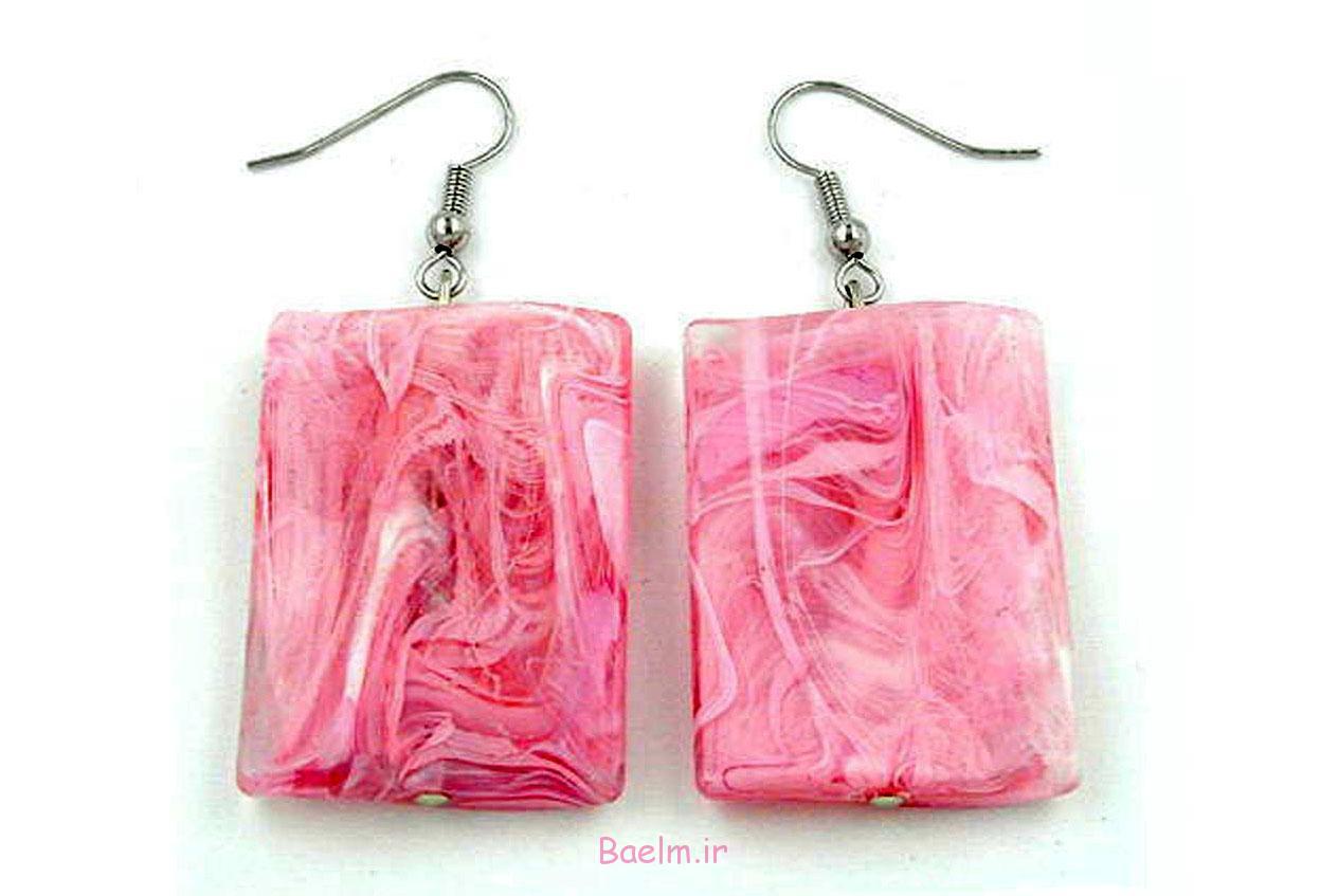 pink earring designs 17 Pink Earring Desings