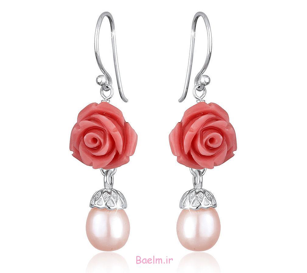 pink earring designs 4 Pink Earring Desings