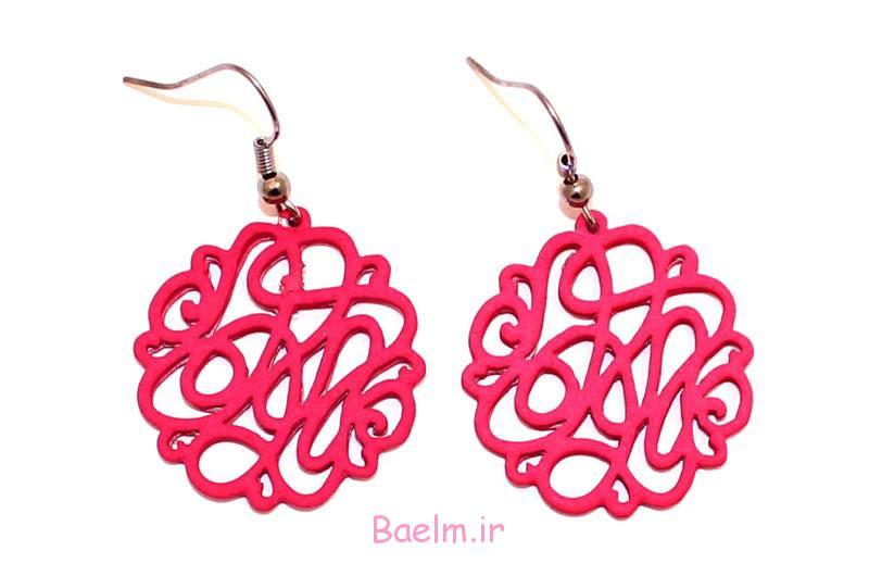 pink earring designs 6 Pink Earring Desings