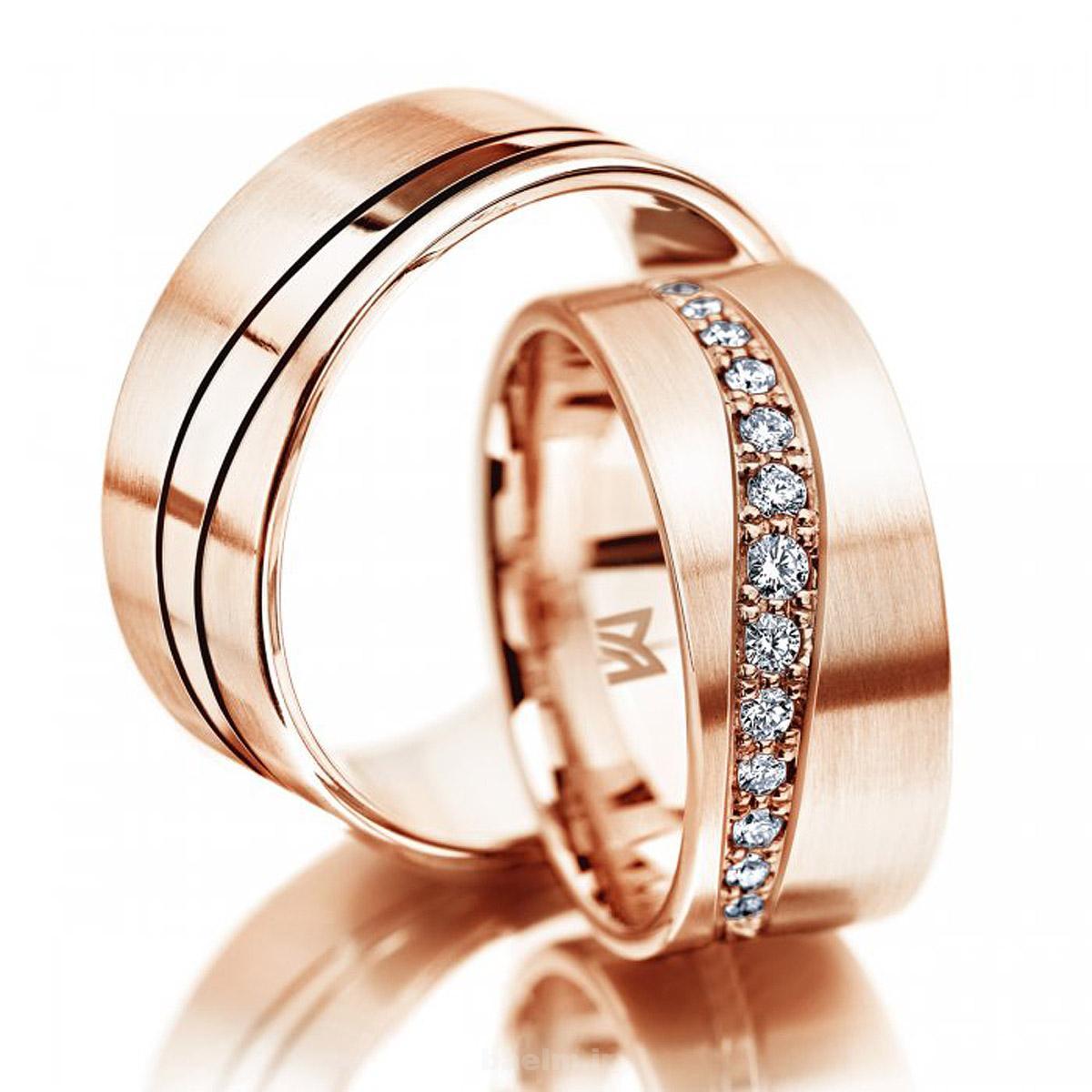 مد | عکس هایی از حلقه طلا مخصوص نامزدی