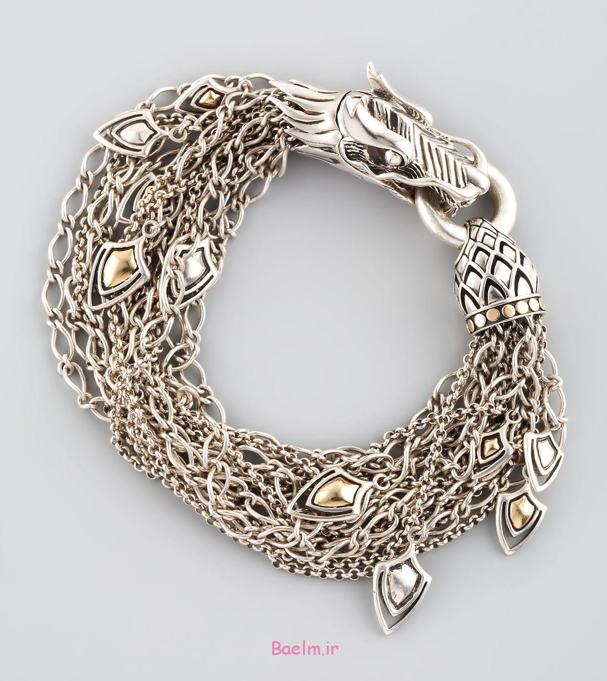 silver bracelet 13 Silver Bracelet Designs