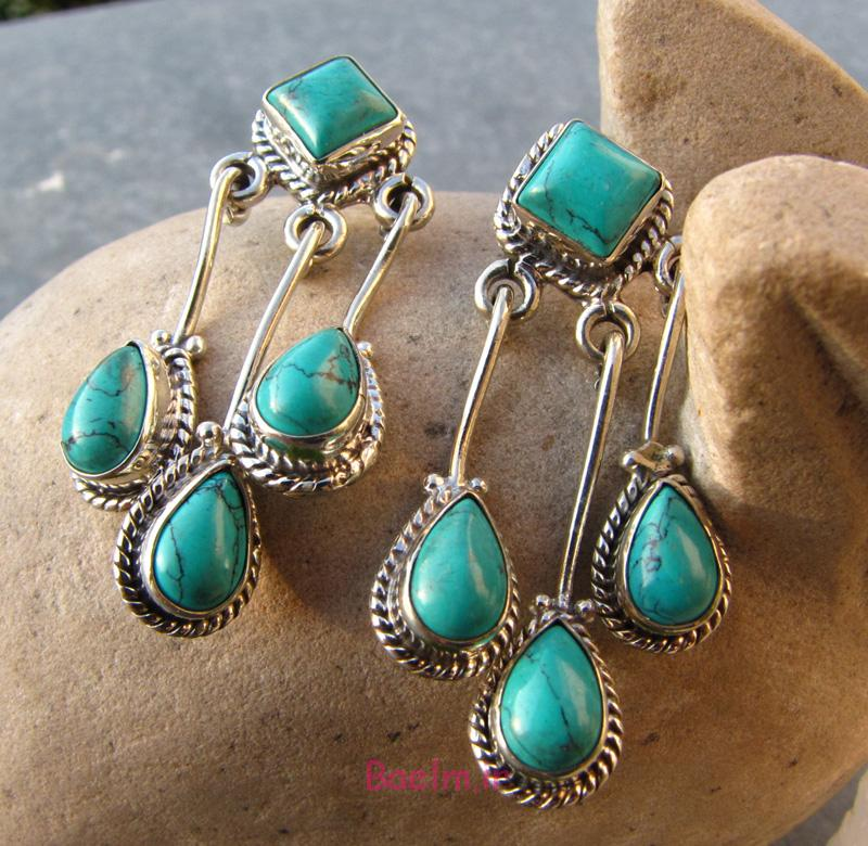 turquoise earrings 1 Designs of Turquoise Earrings
