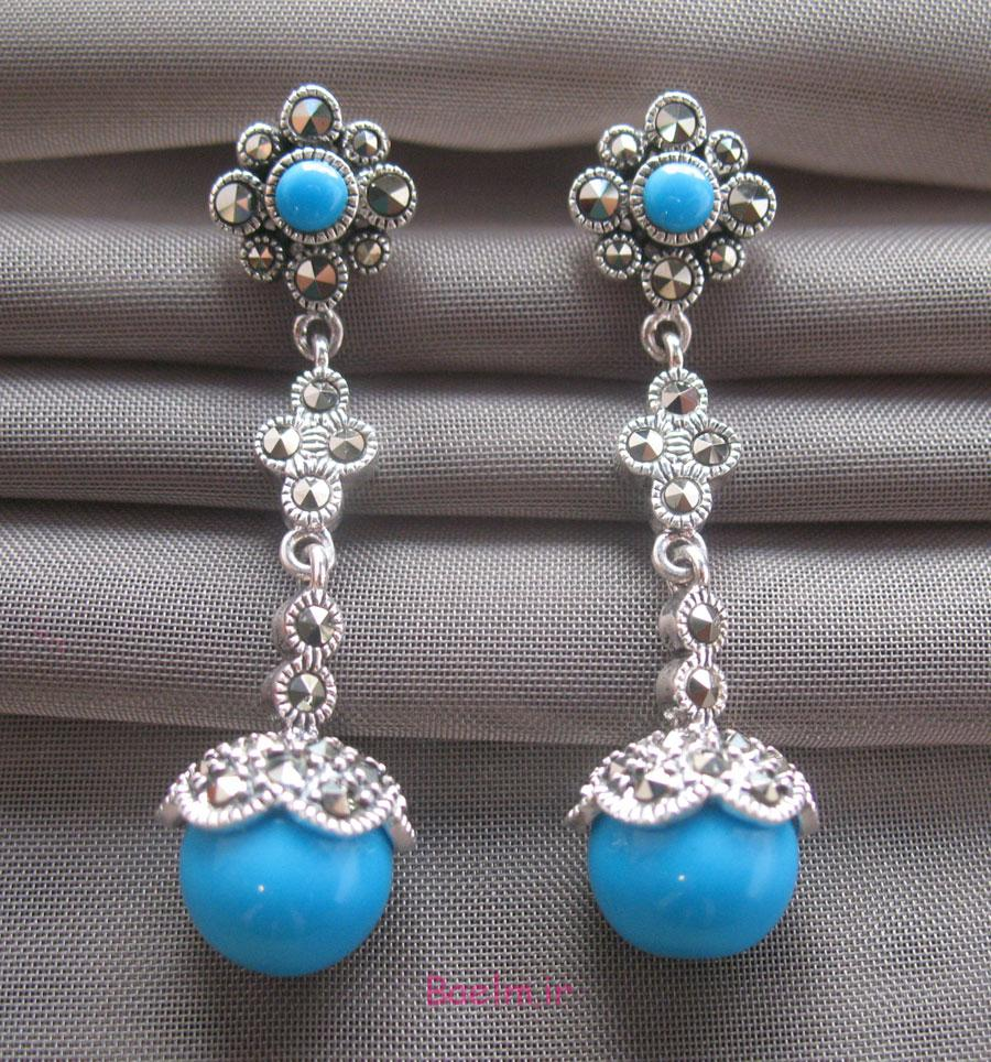 turquoise earrings 12 Designs of Turquoise Earrings