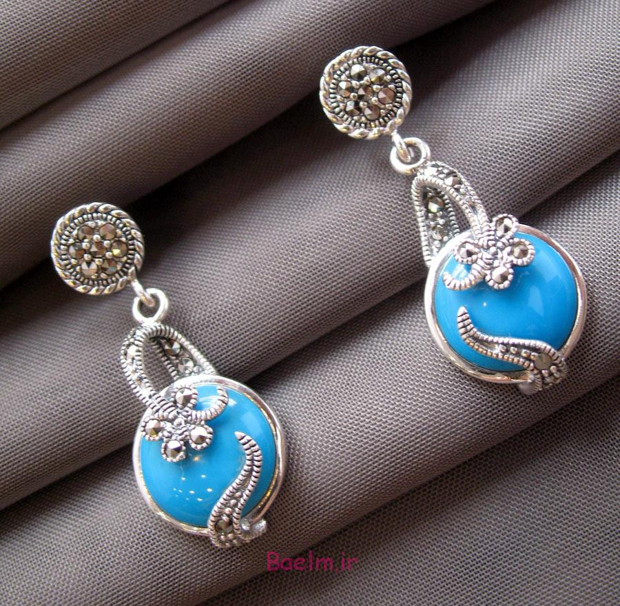 turquoise earrings 2 Designs of Turquoise Earrings
