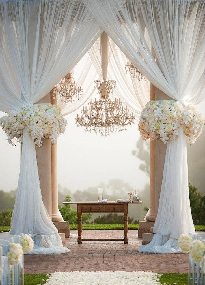 سری جدید چیدمان و تزئینات مراسم عقد و عروسی(اروپایی)