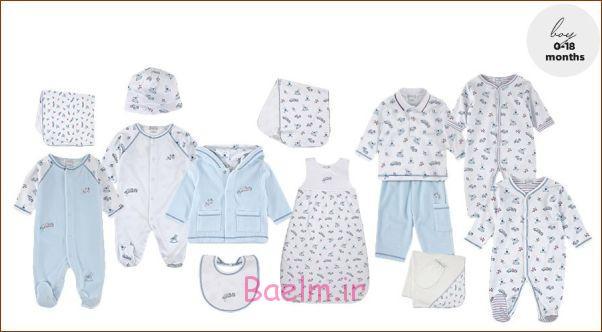 ست لباس نوزادی,لباس نوزادی ,لباس سرهمی نوزاد,سیسمونی