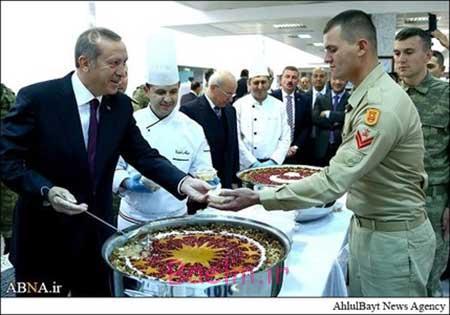عکس های جالب از پخش آش نذری اردوغان رئیس جمهور ترکیه