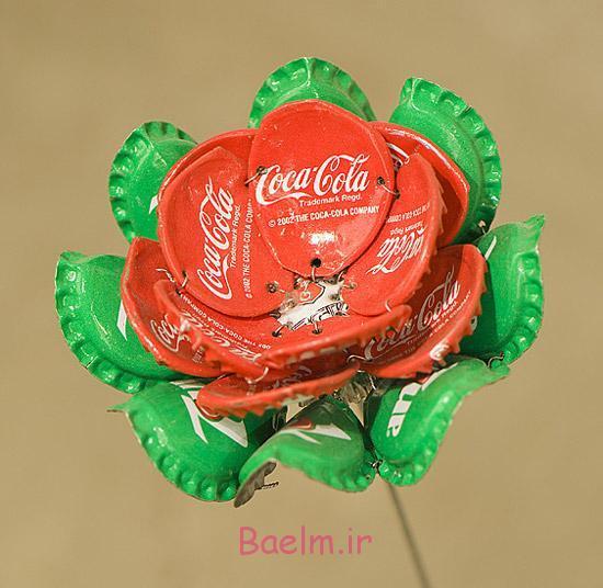 ایده های جالب | ساخت کاردستی با درب فلزی نوشیدنی ها (بسیار زیبا و شیک)