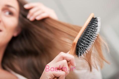 بهداشت مو | روش هاي صحيح شانه كردن موي زنانه و دخترانه