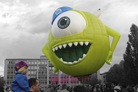 Monsters Inc Hot Air Balloon