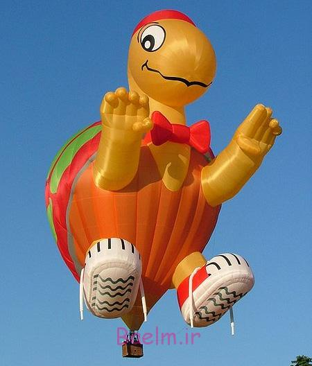 Turtle Hot Air Balloon