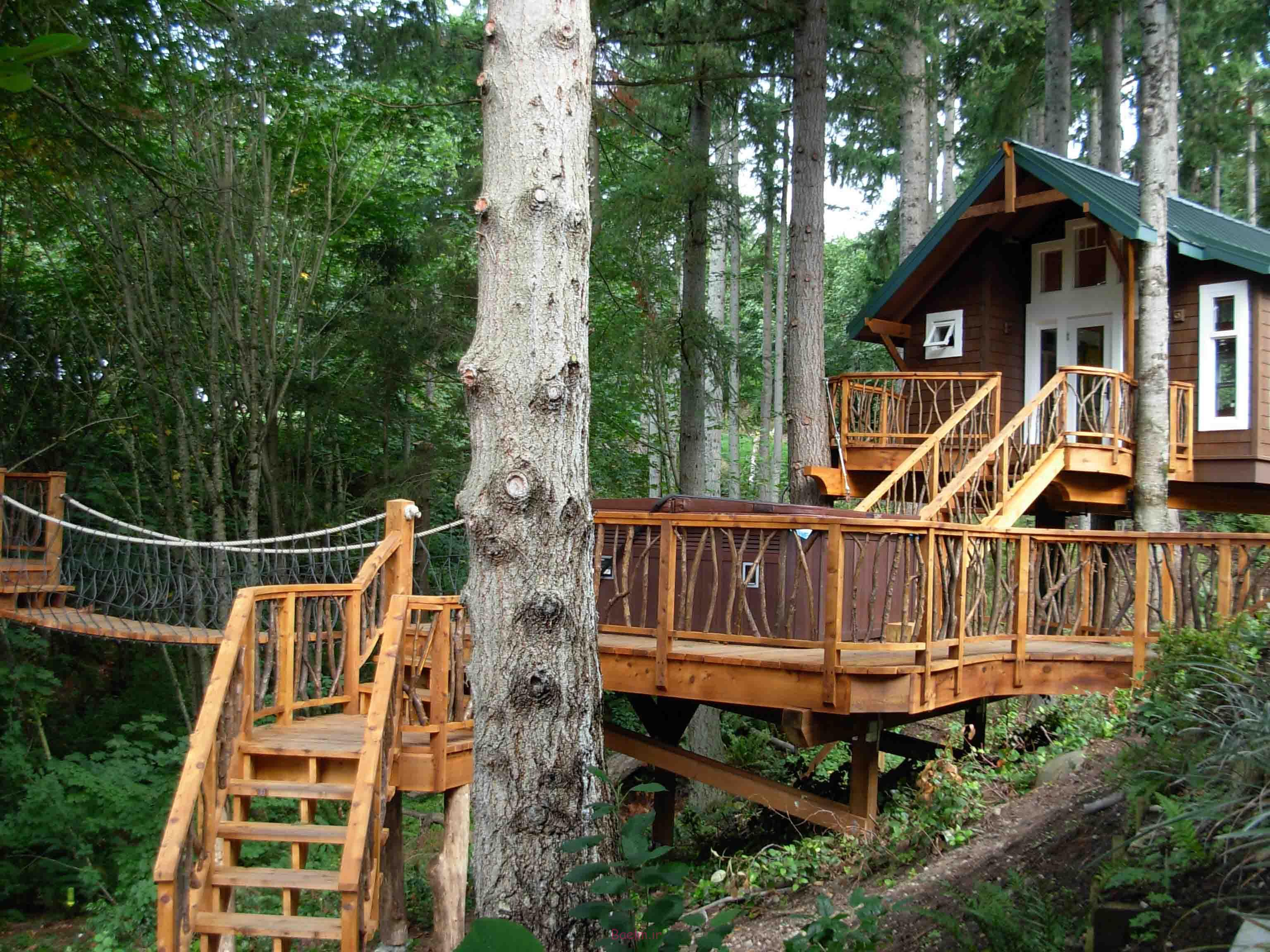 amazing tree house designs 15 Amazing Tree House Designs