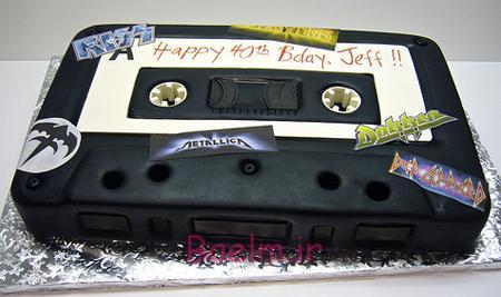 عکس کیک های فانتزی ،جالب و بامزه برای جشن تولد (سری 6)