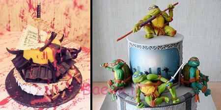عکس های جالب | کیک های تولد با مدل های عجیب و خنده دار(سری 4)
