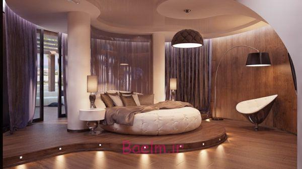 Round Beds For Your Stylish Bedroom
