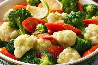 روش سرخ کردن پیاز, بهترین روش سرخ کردن سبزیجات