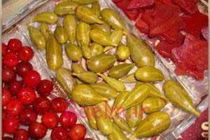 انواع ترشی   طرز تهیه ترشی هندوانه ابو جهل (شپله)