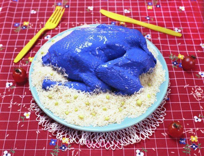رنگ آمیزی و تزئین جالب غذا برای باز شدن اشتها (بسیار زیبا)