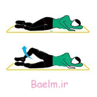 لاغر کردن ران,لاغر کردن باسن,حرکات ورزشی برای لاغر کردن ران و باسن