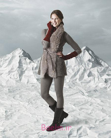 مد و زيبايي | مدل هاي جديد لباس زمستاني زنانه و دخترانه/2015