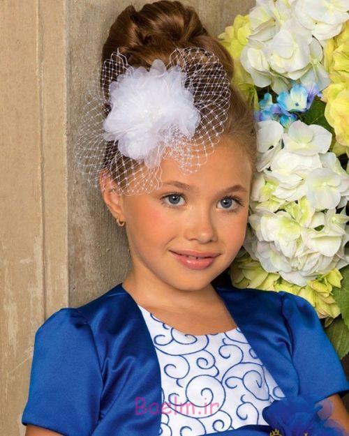 عکس هایی بسیار زیبا از مدل گل سر و مدل جدید موی دخترانه