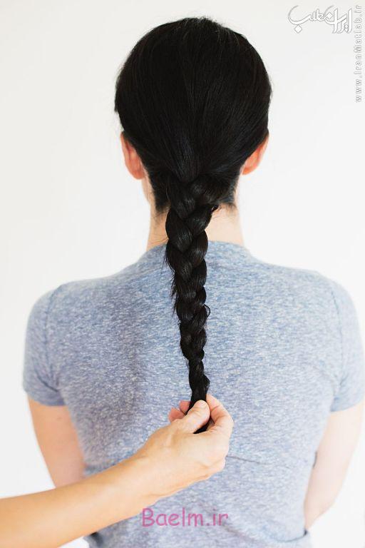 آموزش تصویری بستن مو, آموزش بستن مو, بستن مو, مدل بستن مو