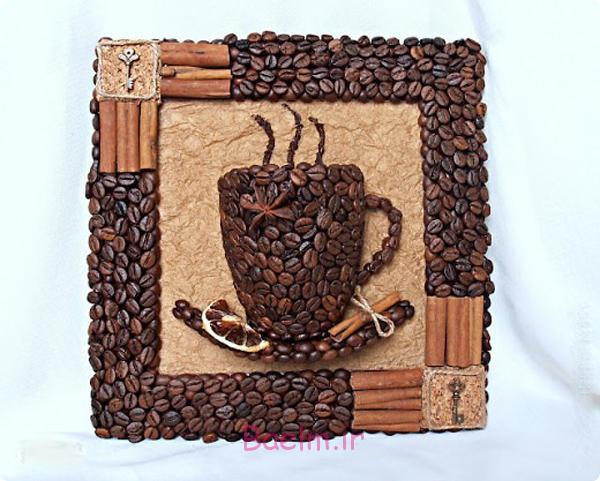 DIY 3D قهوه جام دیوار دکور 12