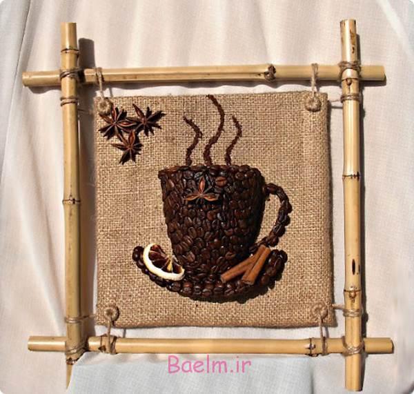 DIY 3D قهوه جام دیوار دکور 14