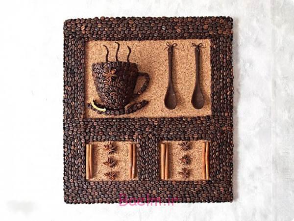 DIY 3D قهوه جام دیوار دکور 15