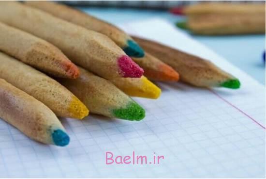 DIY شایان ستایش رنگی مداد کوکی ها 5