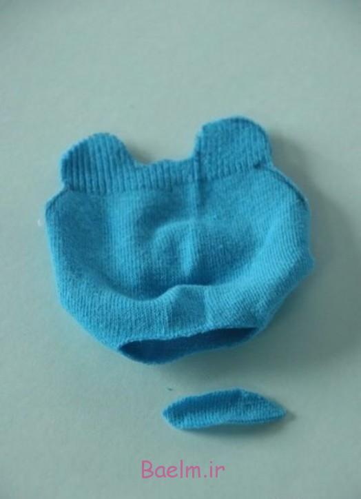 DIY شایان ستایش جوراب تدی خرس 3