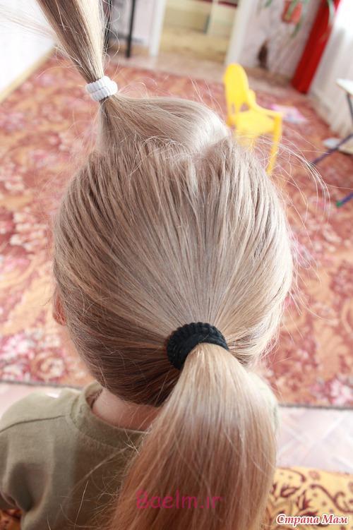 DIY Unique Braided Bun Hairstyle 1