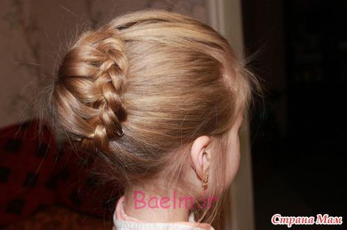 DIY Unique Braided Bun Hairstyle 13