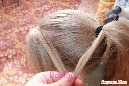 DIY Unique Braided Bun Hairstyle 2