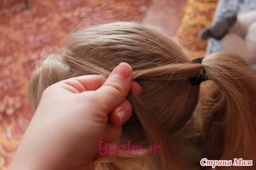 DIY Unique Braided Bun Hairstyle 3