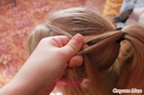 DIY Unique Braided Bun Hairstyle 4