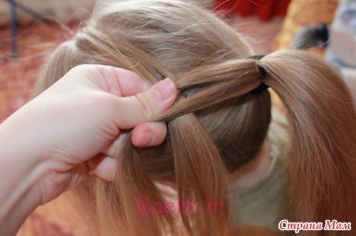 DIY Unique Braided Bun Hairstyle 5
