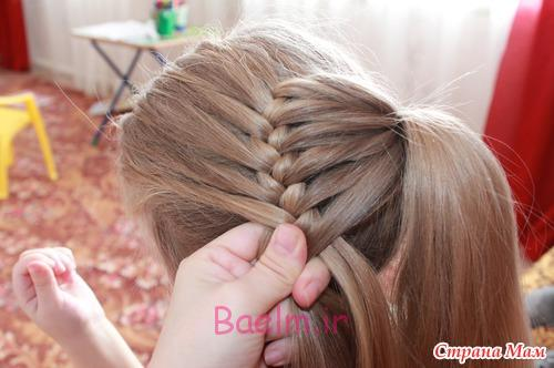 DIY Unique Braided Bun Hairstyle 6