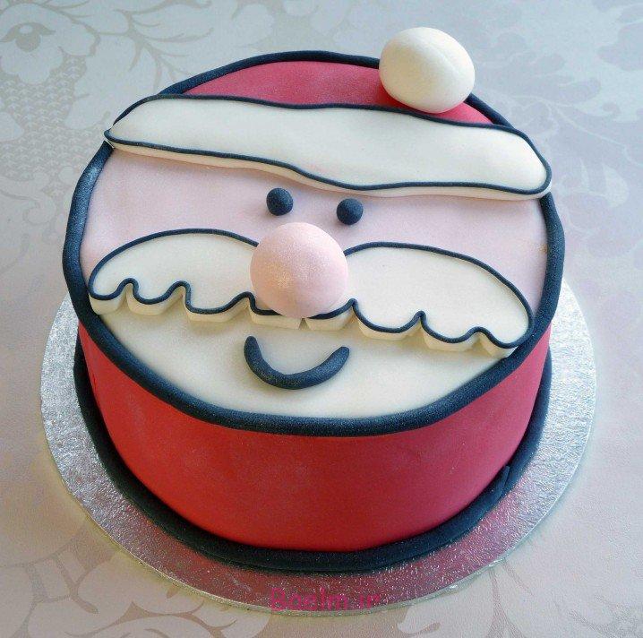 عکس کیک آدم برفی