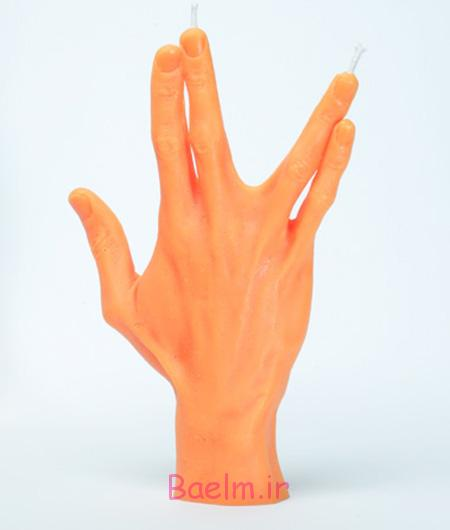 Hand Gesture Candles 2