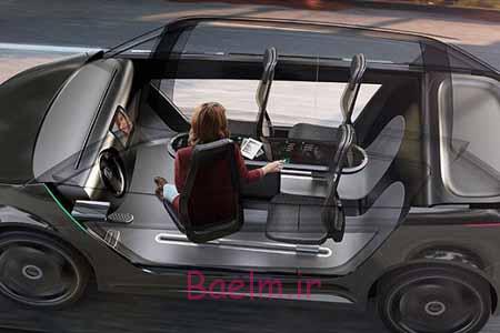 خودرویی که در حال راندن تبدیل به دفتر کار میشود | دانستنیهای علمی
