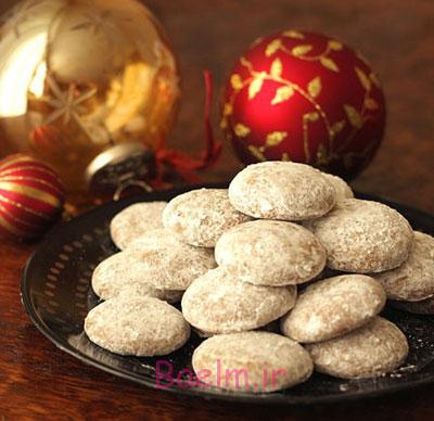 آموزش شیرینی   طرز تهیه چند نوع شیرینی خانگی مخصوص کریسمس