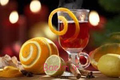 دمنوش مخصوص کریسمس,طرز تهیه چای ادویه نورنبرگ