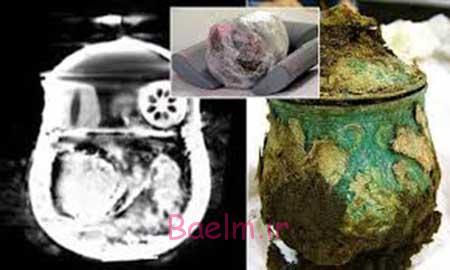 عکس های جالب از تصویر برداری Ct-Scan یک گلدان
