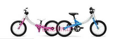 دوچرخه هایی که با بزرگ شدن کودک بزرگتر میشوند