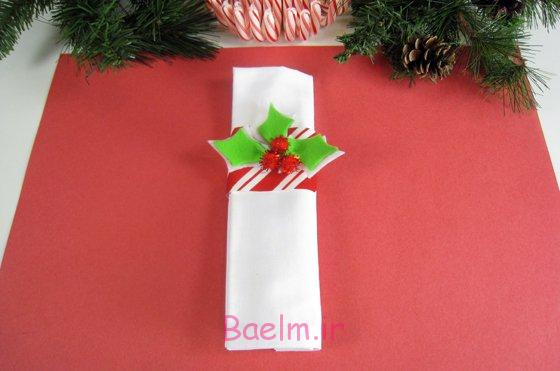 Great DIY Christmas Napkin Rings And Napkin Folding Techniques