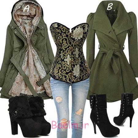 ست لباس زمستانی, لباس های زمستانی زنانه