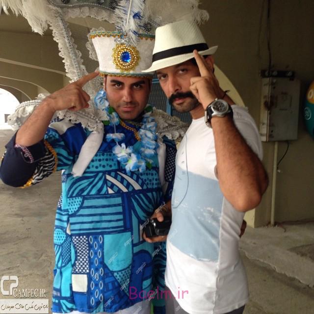 کامران تفتی در برزیل