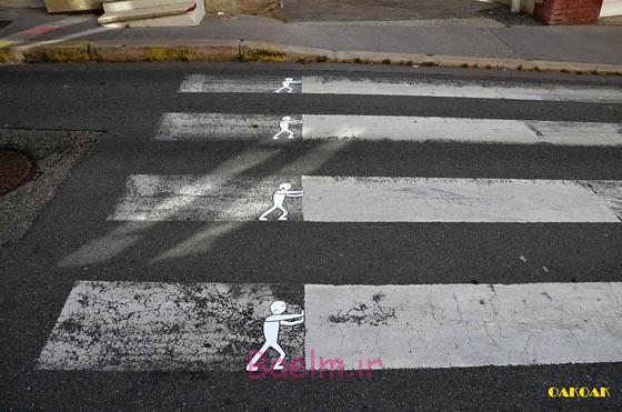 هنر خوشگذران و خیابان شوخ توسط oakoak