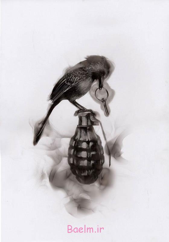 هنر | نقاشی های حیرت انگیز با استفاده از دوده شمع (حتما ببینید)
